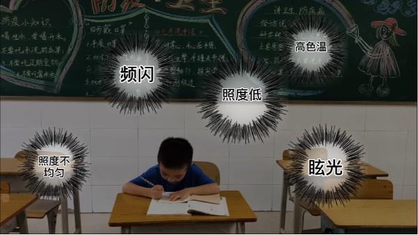 护眼led教室灯和传统教室照明灯相比的优势在于哪里?
