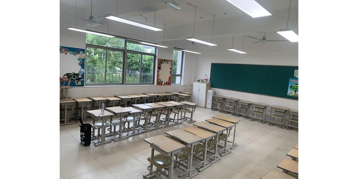 案例|上海七宝明强小学(西校区)打造教室优质照明光环境,迎接开学季