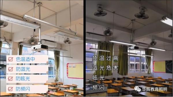 教室照明还有国家标准?预防近视别忽略了这六点!
