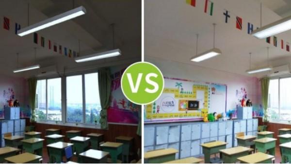 """聚焦近视防控,教室照明改造不仅是""""新灯换旧灯"""""""