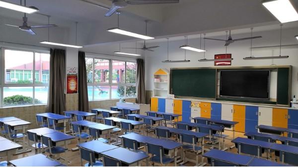 华辉led护眼教室灯具是如何保护学生眼睛预防近视的?