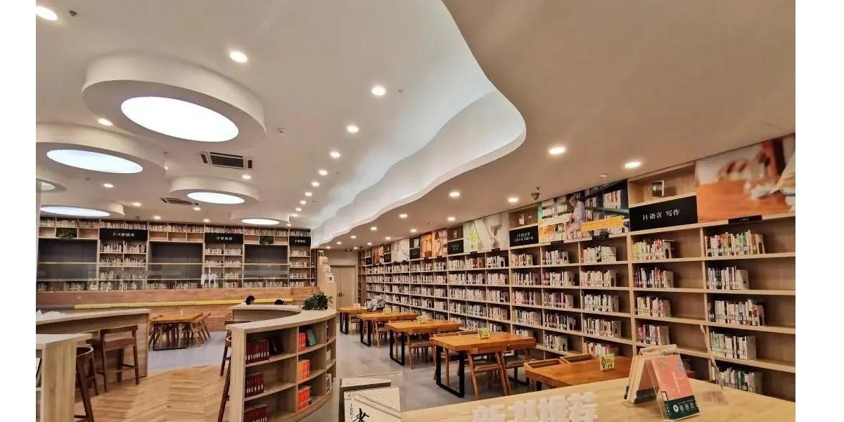 案例|嘉兴图书馆智慧书房,华辉打造智能舒适的阅读光环境