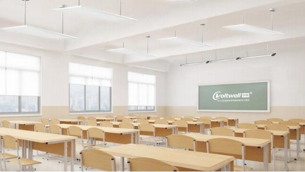 华辉教育照明LED教室护眼灯具改造后,教室能达到什么效果?