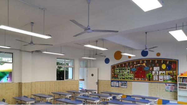 预防青少年近视,学校需从护眼健康的教室照明开始