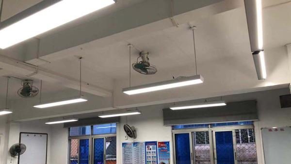 智多多客户案例:庵埠华侨中学教室灯光改造