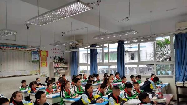 案例|重庆市丰都县第一小学教室照明改造,呵护学生视力健康