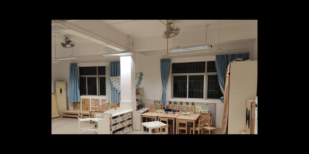 案例 教室照明改造走进深圳光明木墩幼儿园,呵护视力从小做起